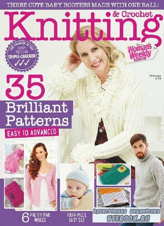 Knitting & Crochet from Woman's Weekly №2 - 2018