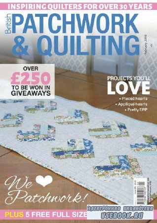Patchwork & Quilting №289 - 2018