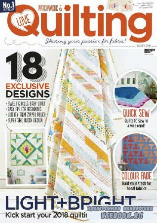 Love Patchwork & Quilting №57 - 2018