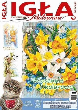 Hafty polskie: Igla Malowane №2 - 2018