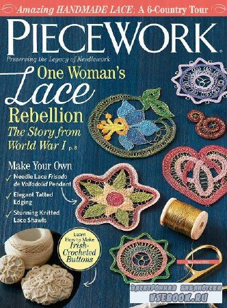 PieceWork Vol.26 №3 - 2018
