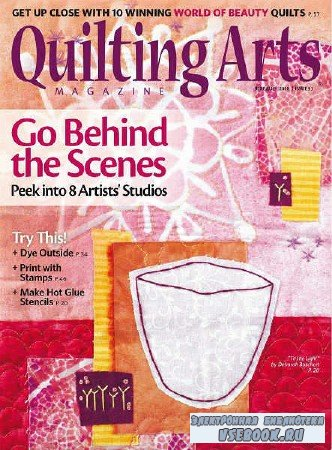 Quilting Arts Magazine №93 - 2018