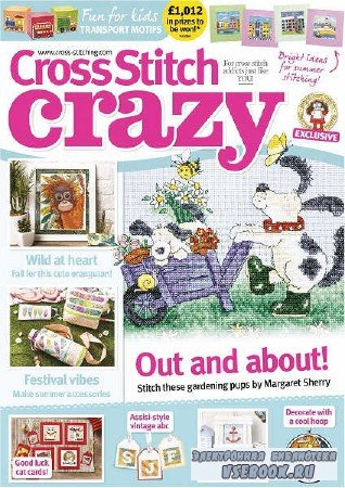 Cross Stitch Crazy №244 - 2018