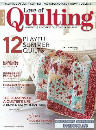 Love of Quilting Vol.23 №135 - 2018