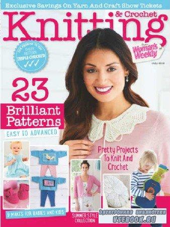 Woman's Weekly Knitting & Crochet - July - 2018