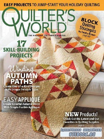 Quilter's World Vol.40 №3 - 2018