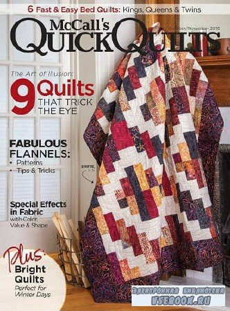 McCall's Quick Quilts Vol.23 №6 - 2018