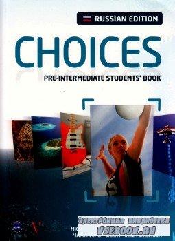 CHOICES.  Pre-intermediate student's book.